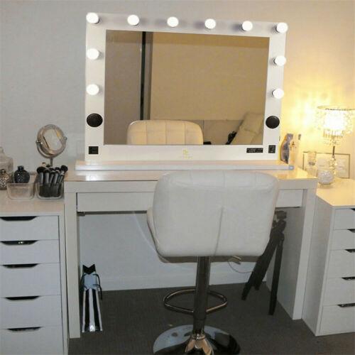 Hollywood Vanity Makeup Mirror Led Light Dimmer USB BT Music