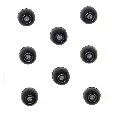 8 LARGE Foam Sleeves Ear bud tips SHURE SE215 SE315 SE425 SE535 SE846 Headphones