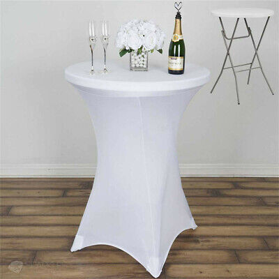 Cocktail Spandex Lycra Table Cover For Wedding Party Banquet Events - Table Decor For Parties