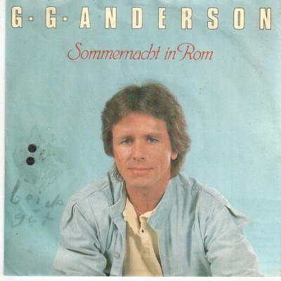 "<2070-0> 7"" Single: G. G. Anderson - Sommernacht in Rom"