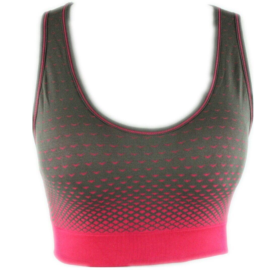 Damen Sport BH Comfort BH Soft-Einlage Bustier Bra Top Push Up  #3078