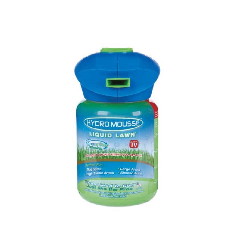Hydro Mousse 15000 Fescue Blend Full Sun Liquid Lawn Kit, 0.5 lb