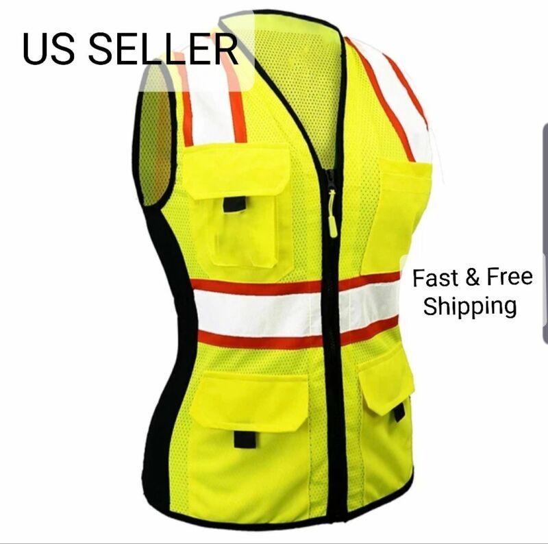 LADY Class 2 ANSI PPE Hi Vis Surveyor Women