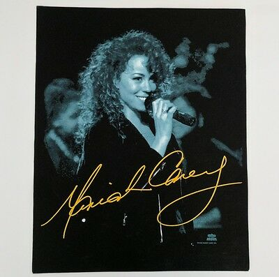Vintage 90s Mariah Carey Shirt Sample Rare MTV Unplugged 1992 Licensed Art