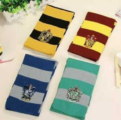 Harry Potter Gryffindor Slytherin Hufflepuff Ravenclaw Hogwarts Scarves HP10