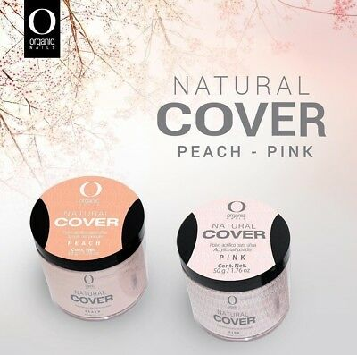 organic nails acrylic Covers Peach & pink 1/2 oz (free 2 decorations) - Mexico Decoration