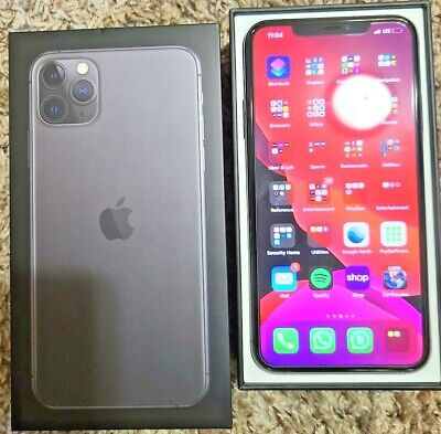 Iphone 11 Pro Max Space Gray 256GB Unlocked