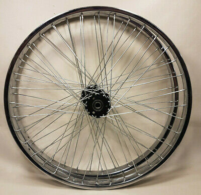 "FAT Chrome Bicycle Rim Hoop 20/"" x 125MM x 140 Spoke-Holes Bikes"