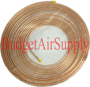 3/8  x 50ft Soft Copper Tubing HVAC Refrigeration  3/8 od