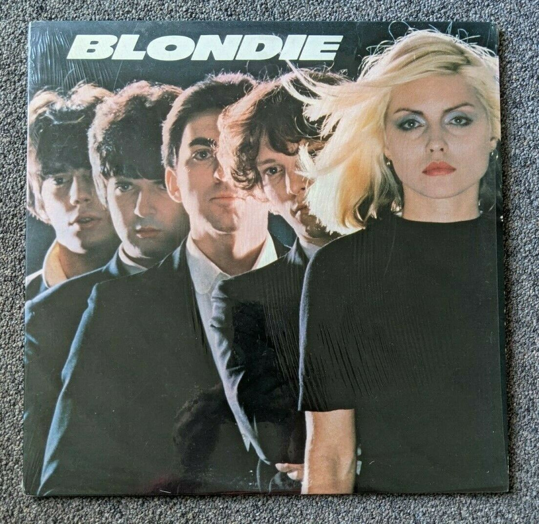 Blondie Self-titled Vtg Vinyl 1976 Private Stock Records/Chrysalis,Shrink Wrap - $15.50