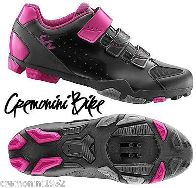 GIANT LIV scarpe mtb bici mountain donna woman bike shoes enduro rosa pink FERA