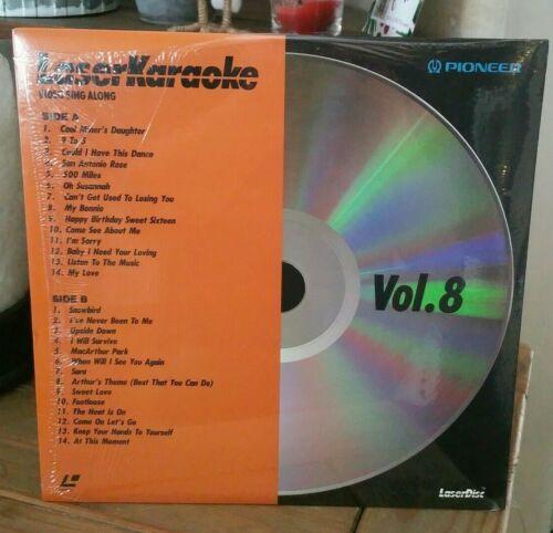 """Pioneer 12"""" Laser Disk Video Sing Along Karaoke Vol. 8 - WKL-008"""