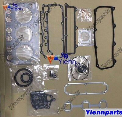 For Yanmar 3TN100 3TN100E Overhaul Head Gasket Set Kit Fit Daewoo DSL801 Engine