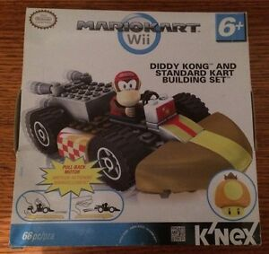 Mario Kart Wii Diddy Kong And Standard Cart Building Set Lara Outer Geelong Preview