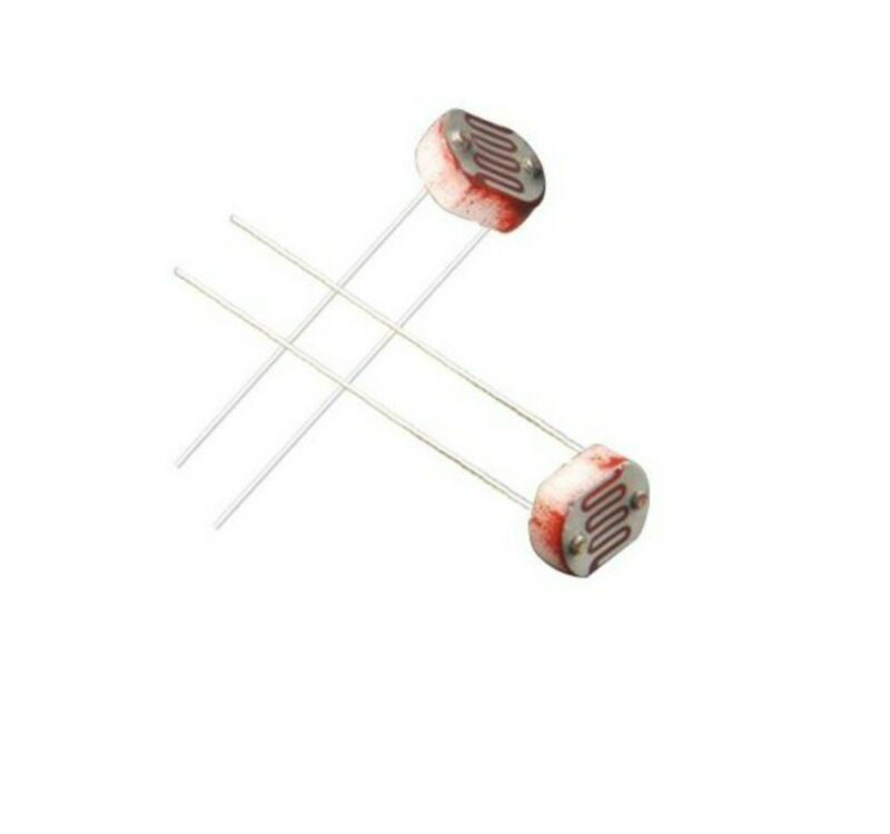 20pcs Photoresistor 5MM GL5537 LDR Photo Resistors Light-Dependent Resistor