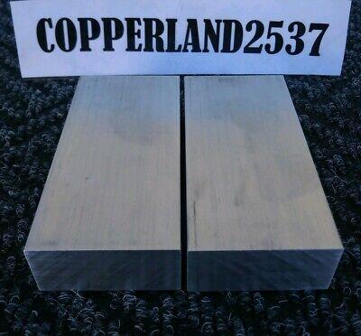 2 Pc 1 X 2 X 4 Long New 6061 T6511 Solid Aluminum Plate Flat Bar Stock Block