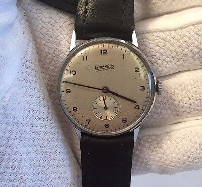 Vintage Eberhard & Co Calatrava Mechanical Men's Watch Swiss