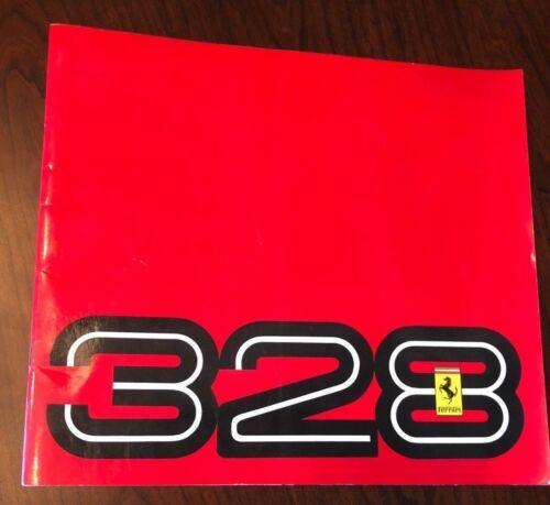 Ferrari 328 Original Sales Brochure