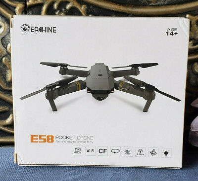 E58 2MP w/ 720P Camera WIFI FPV Foldable Selfie Pocket Drone RC Quadcopter RTF