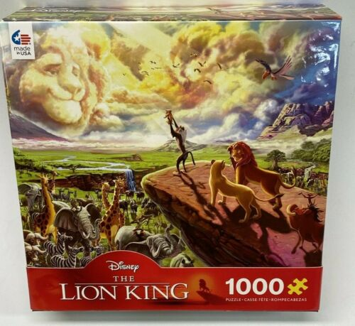 Disney 1000 Piece Puzzle Lion King Ceaco Made in USA NIP