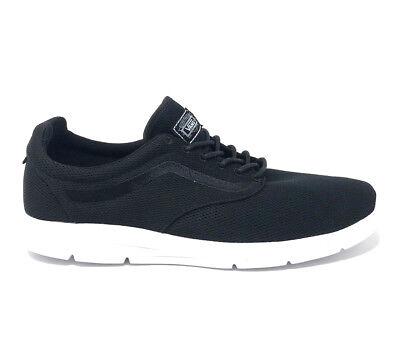 c72944cc29 Vans Iso 1.5 Mesh Black Skate Shoes Men