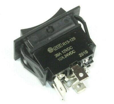 Sci Motor Reversing Rocker Switch Momentary 20 Amps 12vdc 10 Amps 24vdc