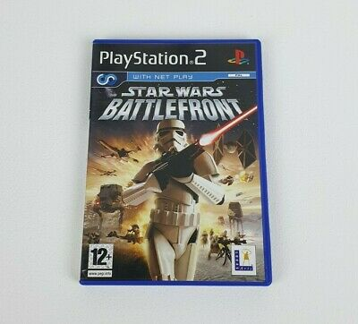 Star Wars: Battlefront - PAL - Sony Playstation 2 / PS2 Game - Free UK Delivery