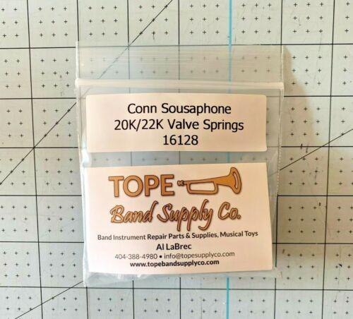 Conn, 20K & 22K Sousaphone Valve Spring, Set of 3