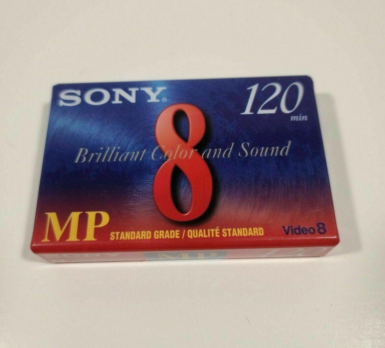 NEW SEALED Sony MP Standard Grade 120 SP 240 LP - Video 8 - P6-120MP Cassette - $4.00