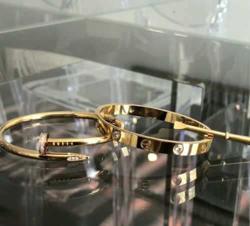 Premium High Quality Stainless Steel Love Bracelet Set