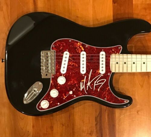 * MICHAEL RAY * signed electric guitar * THE ONE THAT GOT AWAY * PROOF * 1