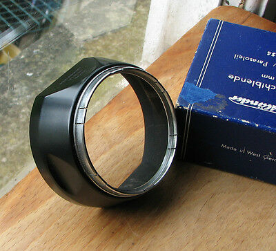 original Voigtlander # 310/541 54mm slip on lens hood & original worn box