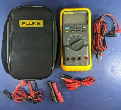 Fluke 87 Iii Trms Multimeter Screen Protector Excellent Soft Case More