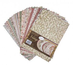 Tonic studios forever moments vintage decorative paper pack 663e