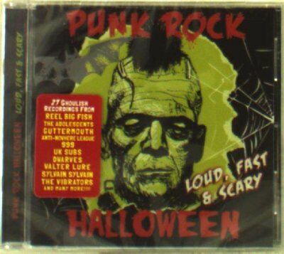 PUNK ROCK HALLOWEEN - LOUD,FAST & SCARY (800 OCTANE, BANKRUPT,...)  CD NEU