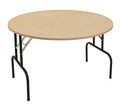 Round Folding Table Made In The Usa Retail Display Store 48 Lot Of 5 New