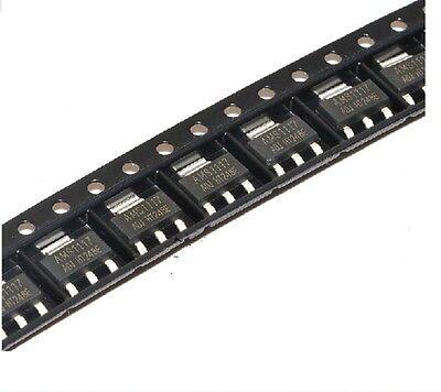 50pcs Ams1117-adj Ams1117 Lm1117 1a Sot-223 Voltage Regulator