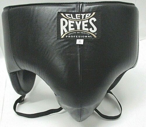 Cleto Reyes Traditional No-Foul Padded Groin Protector - Black - XL - DAMAGED
