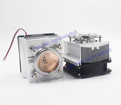 90-12044mm Lens Reflector Bracket20-100w Led Aluminium Heat Sink Cooling Fan