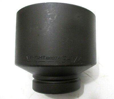 Wright Tool 8897a 3-14 Impact Socket 1 Drive 6-point 3-14 In. Made In Usa