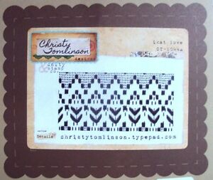 Unity Stamps Christy Tomlinson Cling Rubber Stamp 2.75