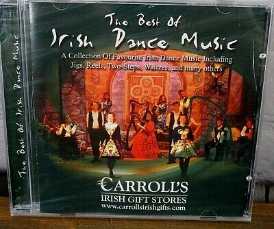 The Best of Irish Dance Music CD ( Musicbank 2000) New- Irish