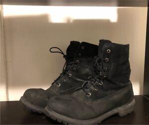 Waterproof Black Timbaland Boots