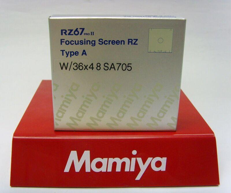 Mamiya RZ PRO IID A / MATTE FOCUSING SCREEN 36 x 48 for DIGITAL BACKS! (or 6x6)!