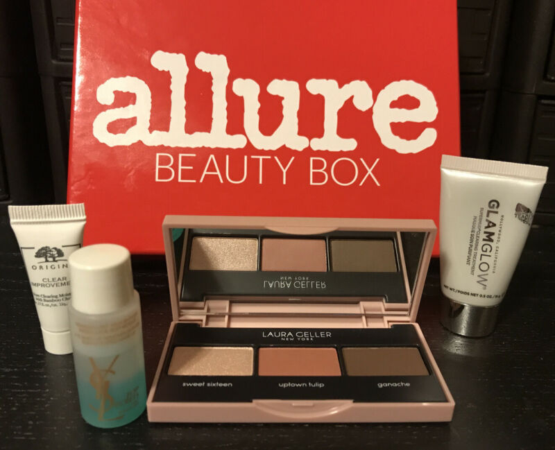 ALLURE BEAUTY BOX NEW 4 ITEMS FAST FREE SHIPPING