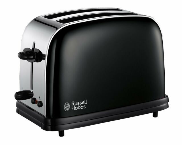 BRAND NEW: Russell Hobbs 14361 Toaster 2 Slice Toaster Extra Wide - Black