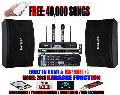 Singtronic Complete Professional 1000W Karaoke System with FREE: 40,000 Songs for sale  Shipping to South Africa
