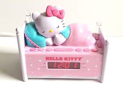 Hello Kitty Sleeping Kitty Alarm Clock Radio - KT2052P
