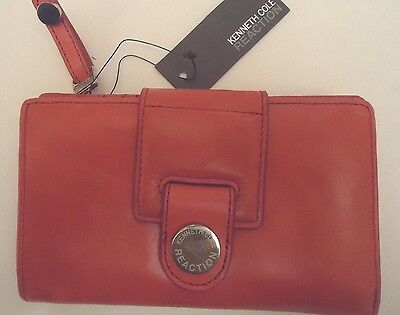 Kenneth Cole New York Credit Card Wallet Padded Glaze