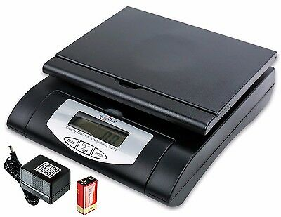Weighmax 4819-75-black Digital Shipping Postal Scale With Acbattery